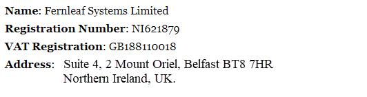 Fernleaf Systems Ltd. Company Information